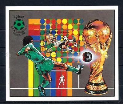 Libye 1982 MS ve fotbale Mi# Block 62
