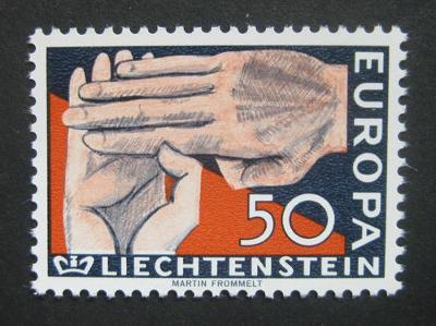 Lichtenštejnsko 1962 Evropa CEPT Mi# 418 0856