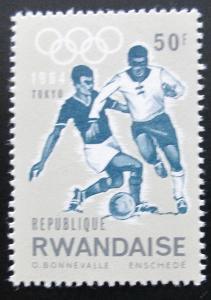 Rwanda 1964 Fotbal, LOH Tokio Mi# 84