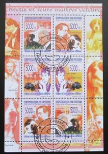 Guinea 2008 Psi slavných Mi# 5607-12 Kat 12€ 0485