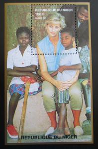 Niger 1997 Princezna Diana Mi# N/N 1221