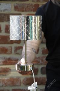 Rostomila stolni lampa stribrna