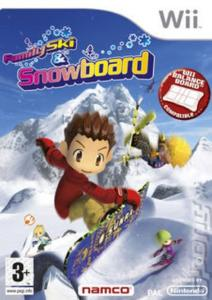 Wii - Family Ski And Snowboard