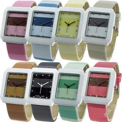 Stylové módní dámské hodinky 8 barev