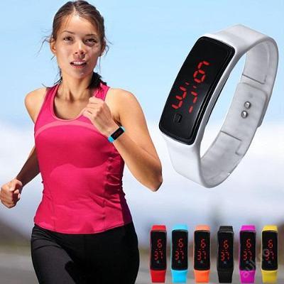 Sportovní dámské LED hodinky na běh, volný čas