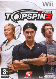 Wii - Topspin 3, Top Spin 3