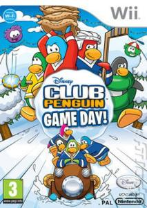 Wii - Club Penguin: Game Day