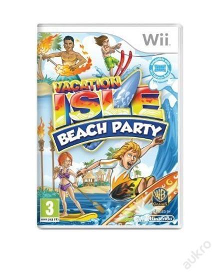 Wii - Vacation Isle - Hry