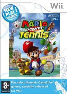 Wii - Mario Power Tennis