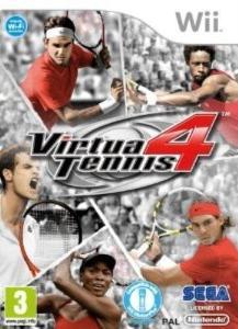 Wii - VIRTUA TENNIS 4