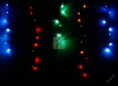 Vánoční osvětlení 320 led rampouchy MIX programáto