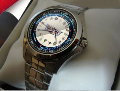 Chrysler History Emblem - hodinky z nerezové oce