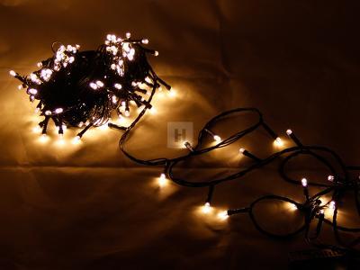 Vánoční osvětlení 200 LED teplá bílá Programátor