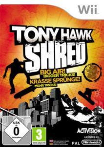 Wii - Tony Hawk Shred
