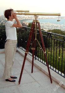 Kapitanátu námořní dalekohled teleskop se stativem