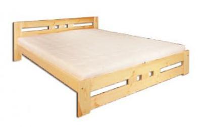 Dřevěná masivní postel 120x200 cm LK117 masiv