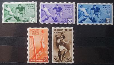 Itálie 1934 MS ve fotbale, kat. cena 400 Euro!