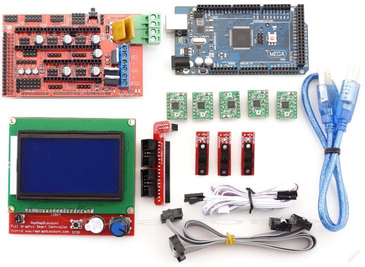 Elektronika Arduino Mega 2560,3D tisk, jPRINT3D.cz - Příslušenství k PC