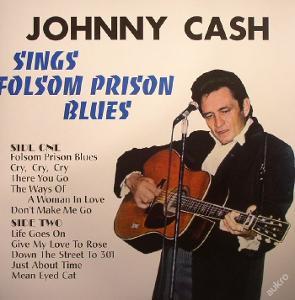 CASH JOHNNY - Sings Folsom Prison Blues / 1 LP