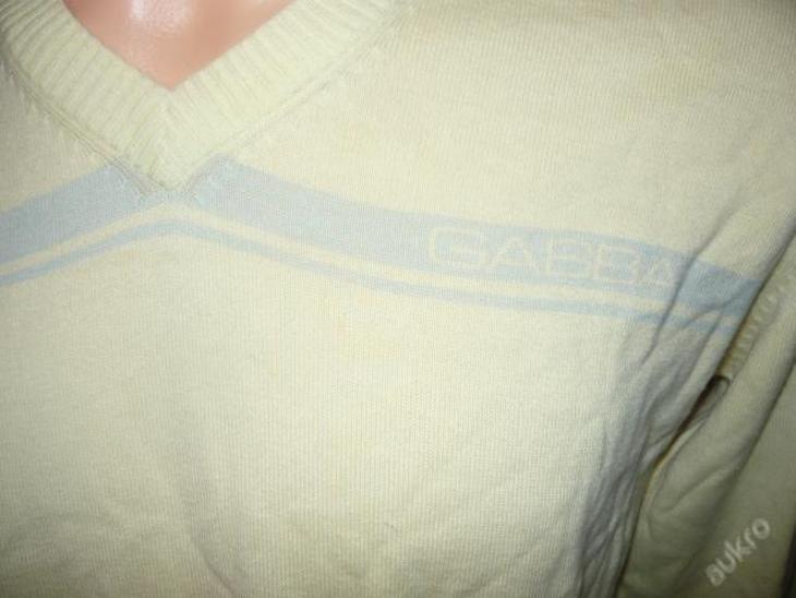 Pánský svetřík GABBA-moderní bomba-top stav - Pánské oblečení