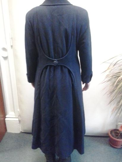 Luxusní dámský kabát dlouhý - Dámské oblečení
