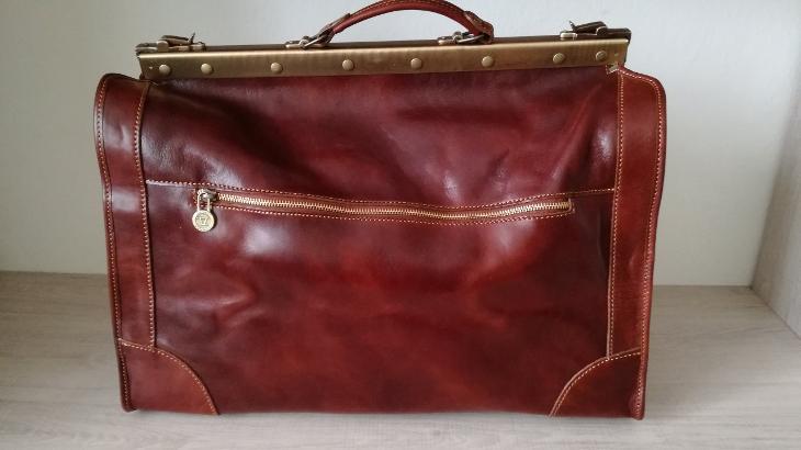 """Madrid - """"Gladstone"""" velká kožená taška - Dámské kabelky"""