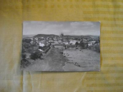 pohlednice Kadaň - prošlá 1954