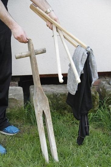 Stary nostalgicky pristroj na prani pradlo - Starožitnosti