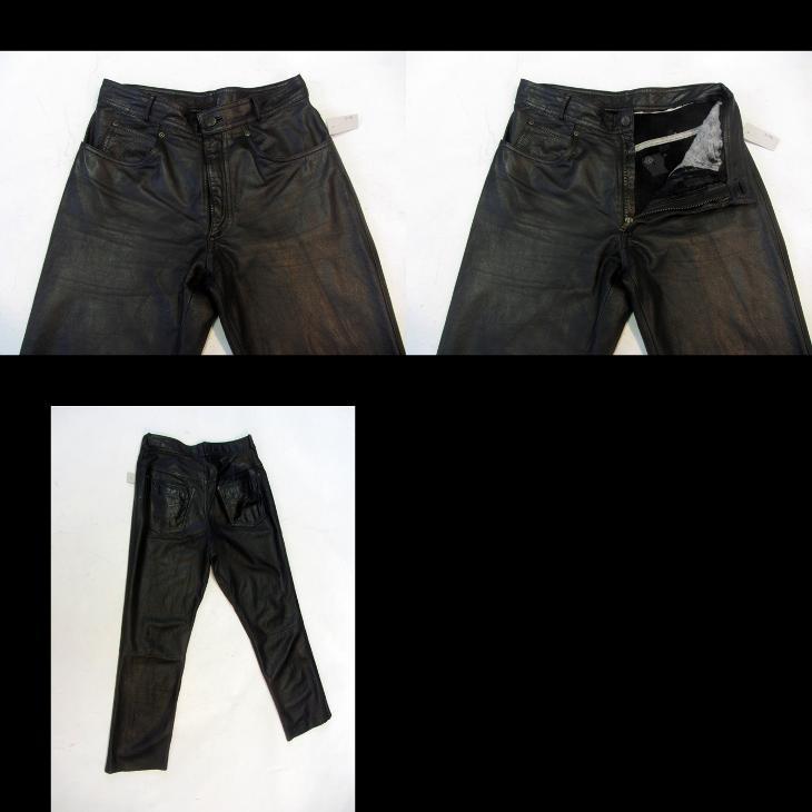 Kožené kalhoty RABERG vel. 33 - obvod pasu: 82 c - Náhradní díly a příslušenství pro motocykly