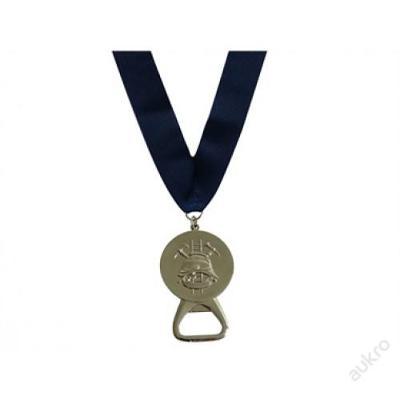 Medaile HASIČI s otvírákem, stříbrná