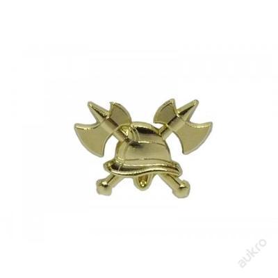 Odznak HASIČI 3D zlatý