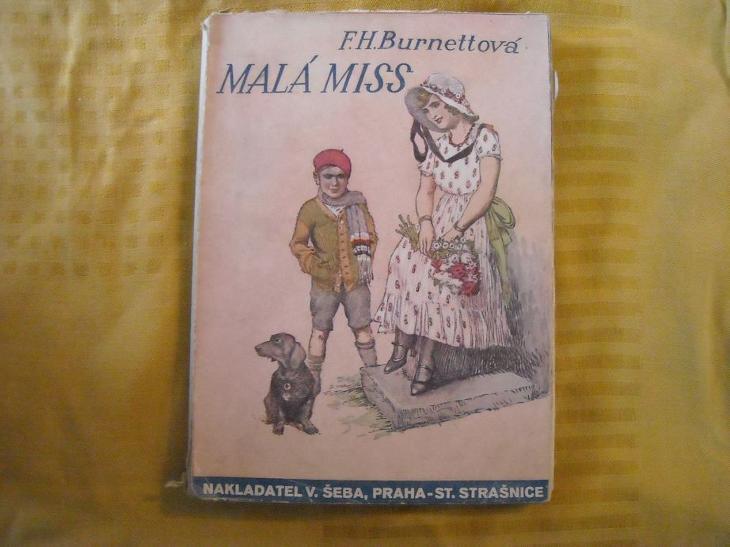 F. H. Burnettová - Malá Miss - Knihy