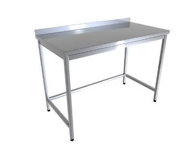 Nerezový stůl 140x60x85cm