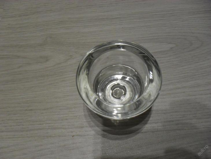 skleněný svícen na čajové svíčky - Zařízení