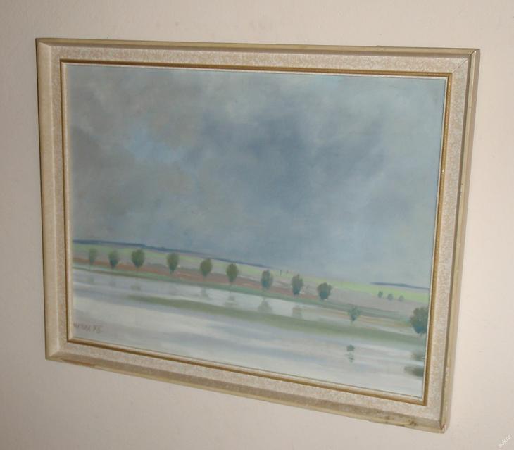 RANNÍ NÁLADA U RYBNÍKA - MATURA 1978 - Umění