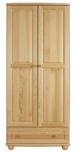 Šatní skřín borovice masiv SF107