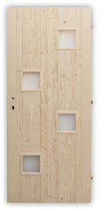 Palubkové dveře Quatro mix - 60, 70, 80 a 90