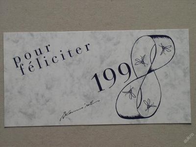 KOMÁREK VLADIMÍR 1997 SERIGRAFIE