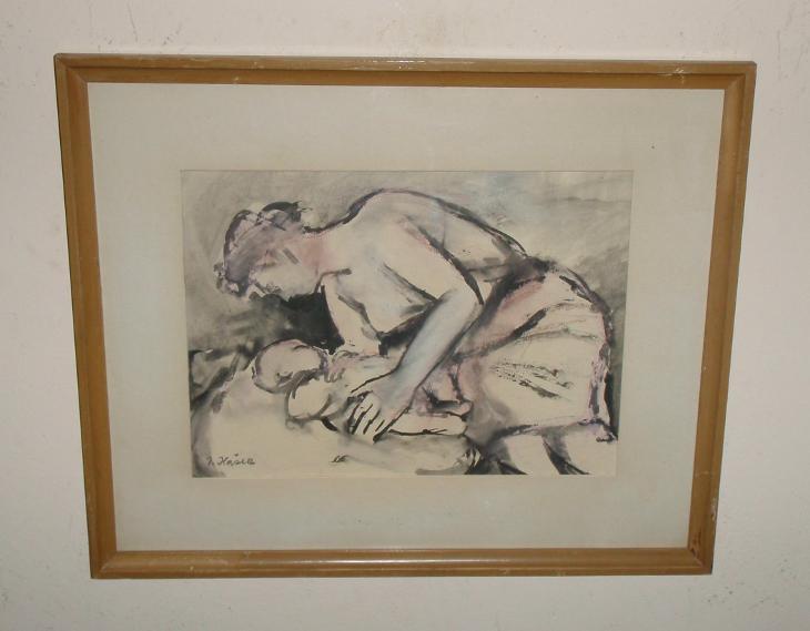 MATEŘSTVÍ - JOSEF HAŠEK - DÍLO ČFVU - Umění
