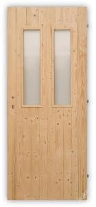 Vchodové palubkové dveře Twins - 70, 80 a 90