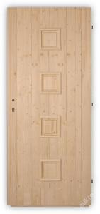 Palubkové dveře Quatro plné - 60, 70, 80 a 90