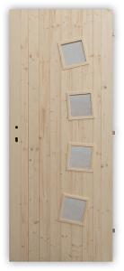 Vchodové palubkové dveře Shape - 60, 70, 80 a 90