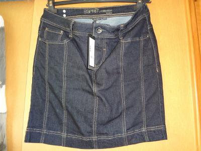 Jeansová sukně Esprit nová