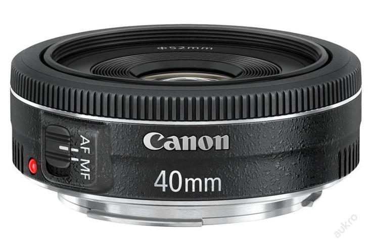 Akce! Objektiv Canon EF 40mm f/2.8 STM - Foto