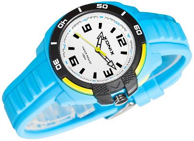 Analogové hodinky XONIX, skvělé pro mládež, podsvícení, vodotěsné 100m
