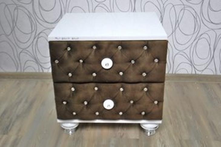 Noční stolek, kontejner se šuplíky (14943B) - Nábytek