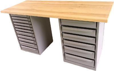 pracovní, dílenský stůl, ponk, model JM17
