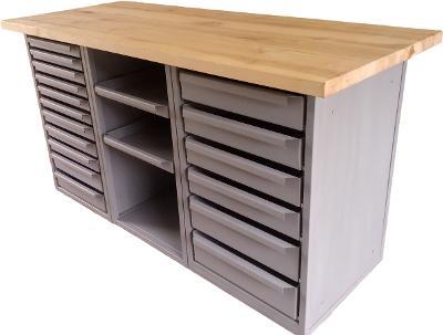 pracovní, dílenský stůl, ponk, model JM19