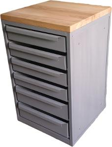 pracovní, dílenský stůl, ponk, model BOX SIX