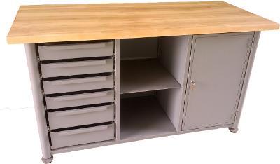 pracovní, dílenský stůl, ponk, model SAFE TS